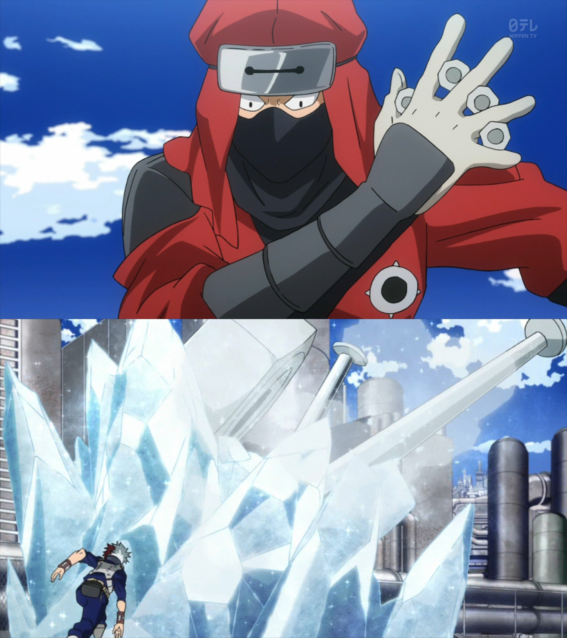 カラフル忍者レッド