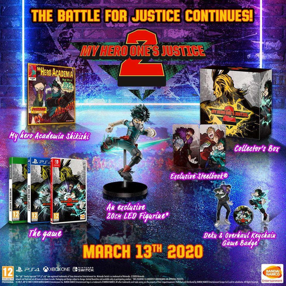 『僕のヒーローアカデミア-One's-Justice-2』コレクターズエディション中身