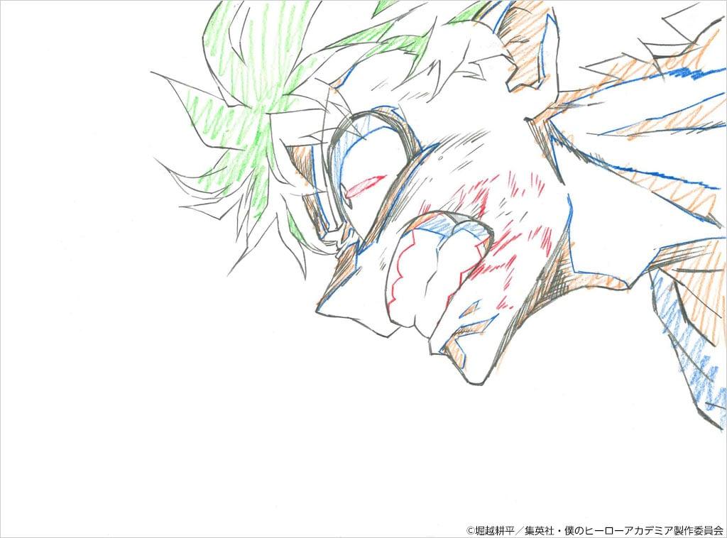 TVアニメの原画-1