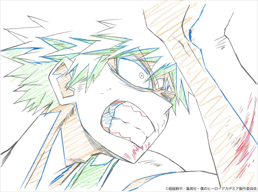 TVアニメの原画-2